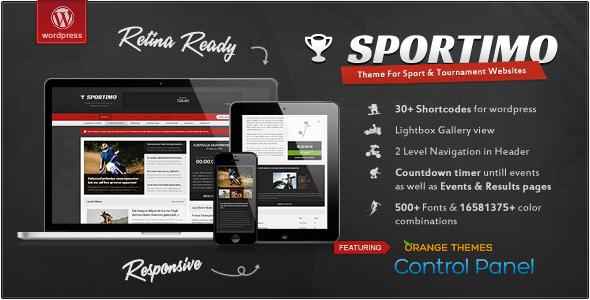 دانلود قالب وردپرس مجله ورزشی Sportimo
