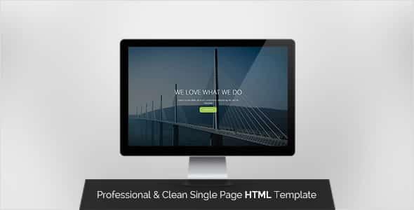 دانلود قالب HTML تک صفحه ای Pyka