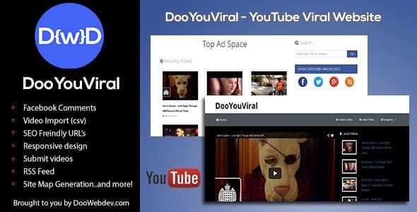 دانلود اسکریپت PHP یوتوب DooYouViral