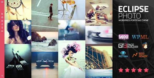 دانلود قالب وردپرس عکاسی eClipse Photo