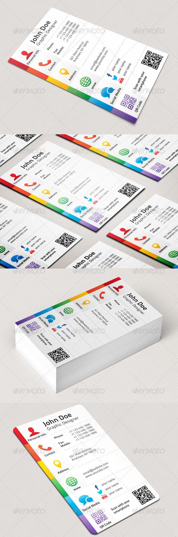 دانلود طرح لایه باز کارت ویزیت شخصی 5742002