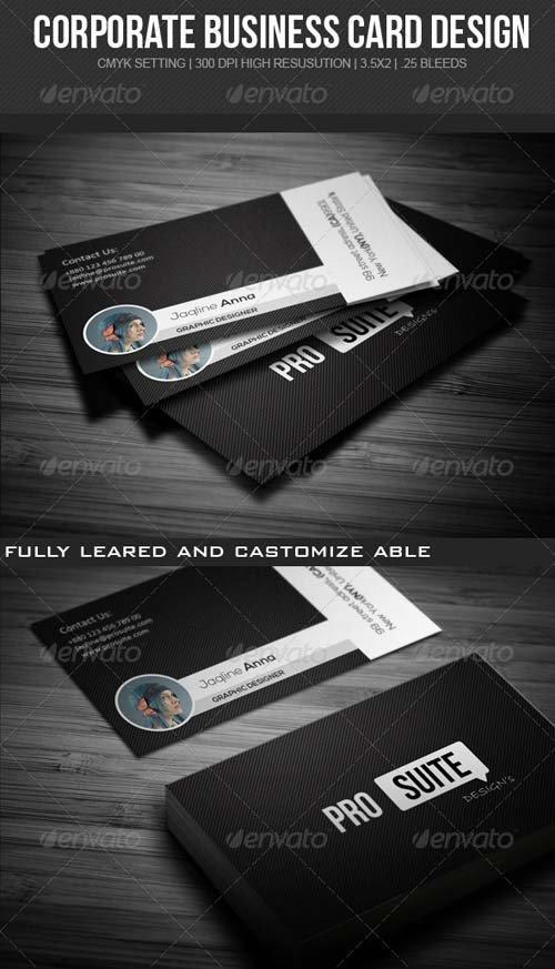 دانلود طرح لایه باز کارت ویزیت 5960131
