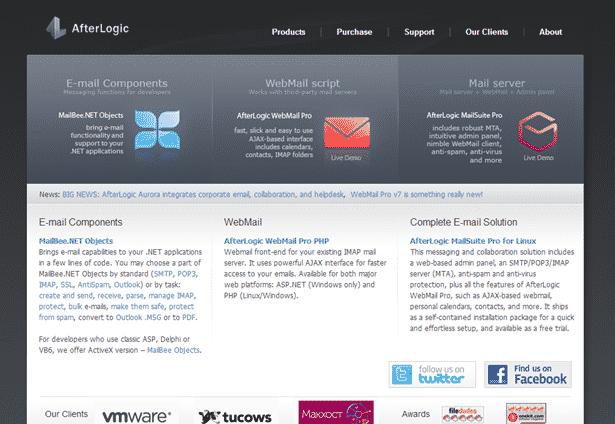 دانلود اسکریپت PHP وب میل AfterLogic WebMail Pro