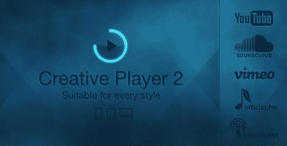 دانلود اسکریپت Creative Player - Responsive HTML5 Player