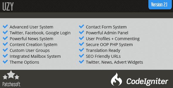 دانلود اسکریپت فرم PHP مدیریت مشتریان UZY