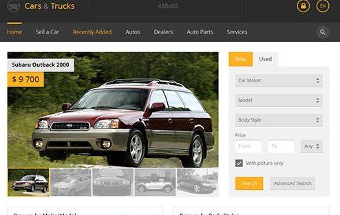 دانلود اسکریپت فروش اتومبیل Flynax Auto