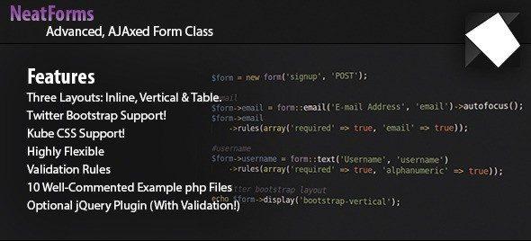 دانلود اسکریپت PHP ایمیل Form Class