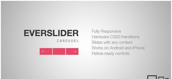 دانلود اسکریپت جی کوئری کروسل Everslider