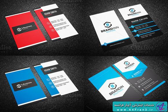 دانلود مجموعه طرح لایه باز 10 کارت ویزیت 238323