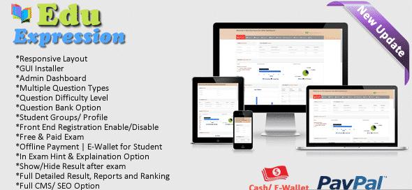دانلود اسکریپت PHP مدیریت آموزشی Edu Expression Online Examination System (Lite)