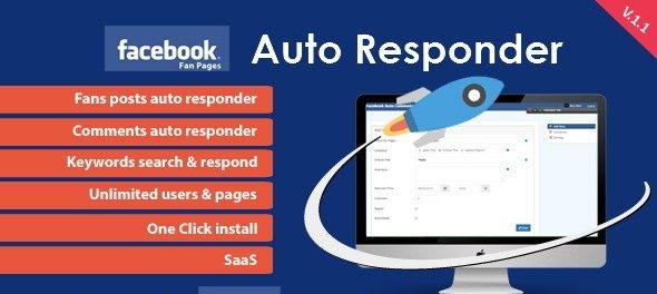 دانلود اسکریپت PHP پاسخ خودکار فیس بوک Facebook Auto Responder