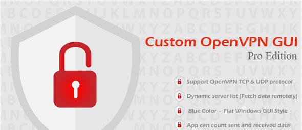 دانلود اسکریپت Custom OpenVPN GUI Pro Edition