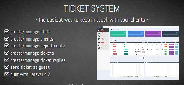دانلود اسکریپت PHP تیکتینگ پشتیبانی مشتریان TICKET SYSTEM