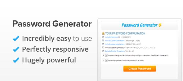 دانلود اسکریپت PHP ساخت رمز عبور Password Generator