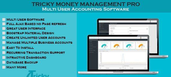 دانلود اسکریپت PHP مدیریت مالی Money Management Pro