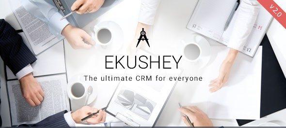 دانلود اسکریپت PHP مدیریت پروژه Ekushey Project Manager CRM